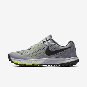 dd6f1690704c8 Womens Nike Air Zoom Terra Kiger 4 Grey Volt 880564-002 Trail ...