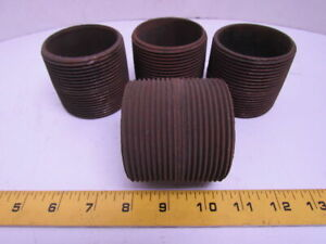 1//4 x 3 NPT Threaded Black Pipe Nipple Schedule 40