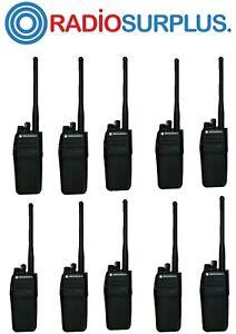 10X MOTOROLA XPR6350 VHF RADIOS FULLY REFURBISHED  + PMAD 4067 ANTENNAS