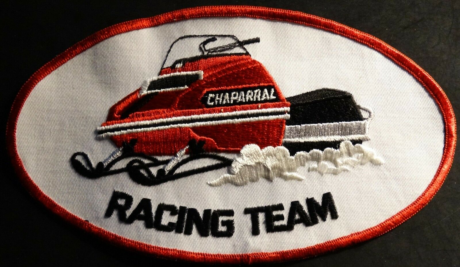 N.O.S. ORIGINAL CHAPARRAL VINTAGE SNOWMOBILE PATCH NEW  5  X 9  (937)  buy 100% authentic quality