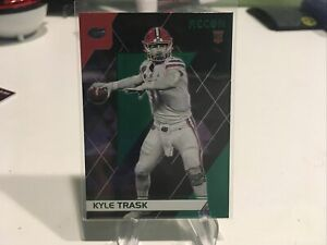 Kyle Trask Green Parallel Rookie Card 139 2021 Chronicles Recon Draft Pick Tampa