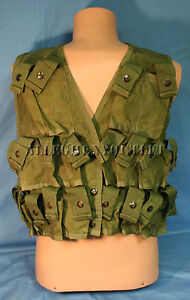 US Military M79 M20 GRENADE AMMUNITION CARRYING CARRIER VEST Size LARGE GC