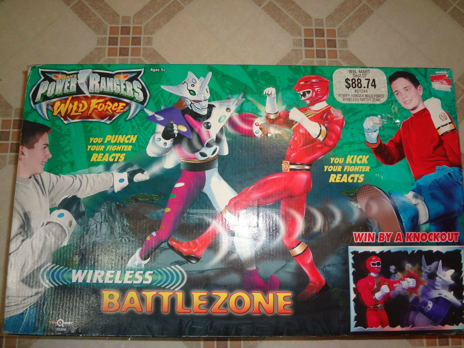 Power rangers wilde kraft wireless battlezone 5 + neue