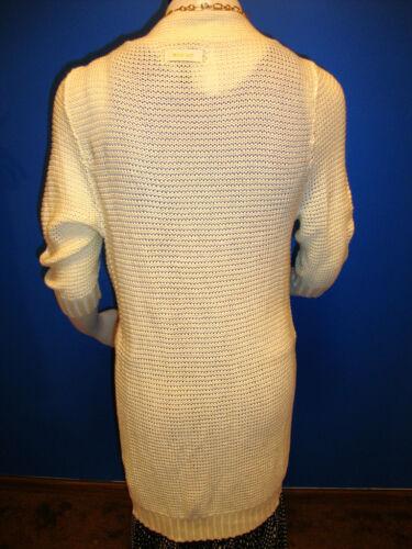 M l Cotton Maglione Insigh mini Long cardigan abito Cool nP8O0TP