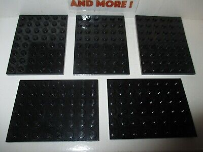 Plate Plaque 6x8 8x6 3036 Dark Bluish gray//gris//grau Choose Quantity Lego
