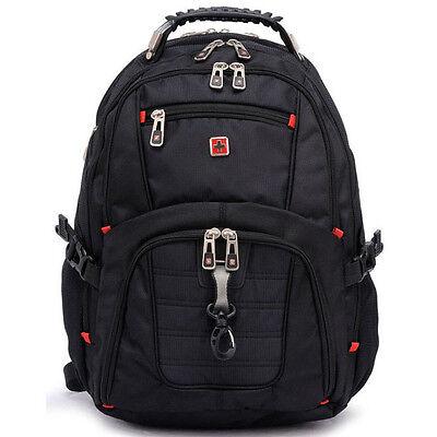 "Outdoor Sports Travel Bag SwissGear Backpack 15 17"" Laptop Bag Satchel Schoolbag"