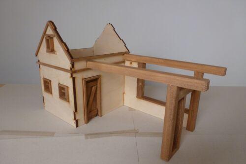 Krippenbausatz ohne Deko Krippe Almhütte Bausatz zum Krippe selber bauen