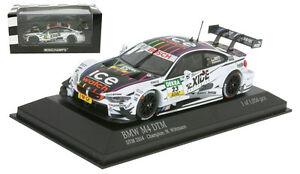 Minichamps-BMW-M4-DTM-F82-039-RMG-039-DTM-Champion-2014-Marco-Wittmann-1-43-Scale