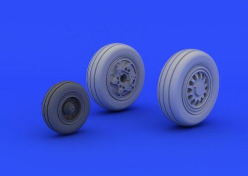 EDUARD BRASSIN 672040 Wheels for Tamiya Kit F-16CJ Block 50 in 1:72
