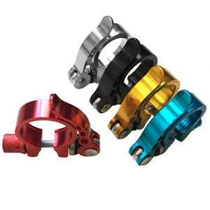 34-9mm-Road-Bike-Bicycle-MTB-Seat-Post-Clamp-Seatpost-Clamp-Collar-Quick-NEW