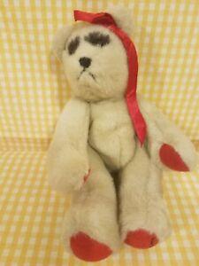 Sally Winey Plush Stuffed Tan Custom made Bear SIGNED Jointed Rare Vgc