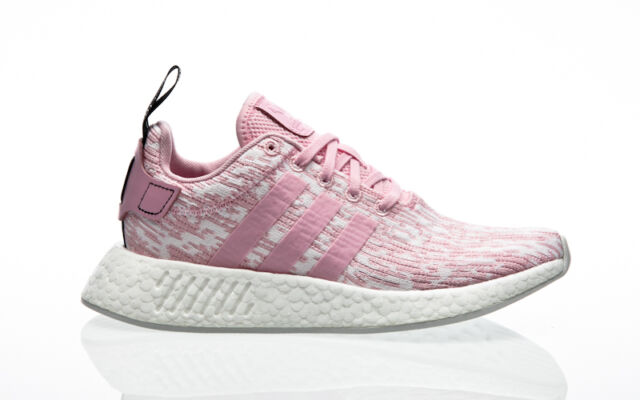 adidas NMD R2 W SNEAKERS Pink White By9315 38 Pink