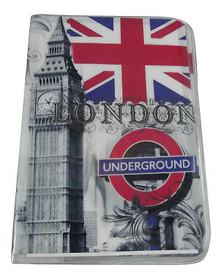 New  London Travel Passport Card Holder Pouch Cover artistic print