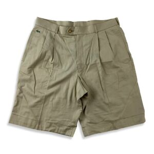 Lacoste vintage Herren Shorts Chino kurze Hose Gr. 44 HS1