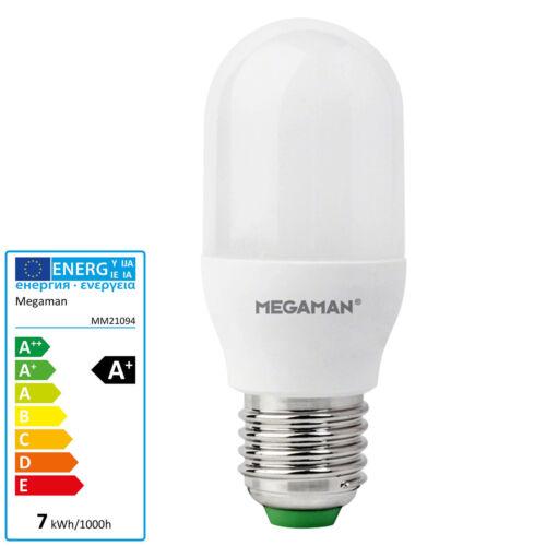 MEGAMAN LED Lampe 7 Watt Birne E27 Röhre Leuchte T40 schmal Rohr Liliput 600 lm