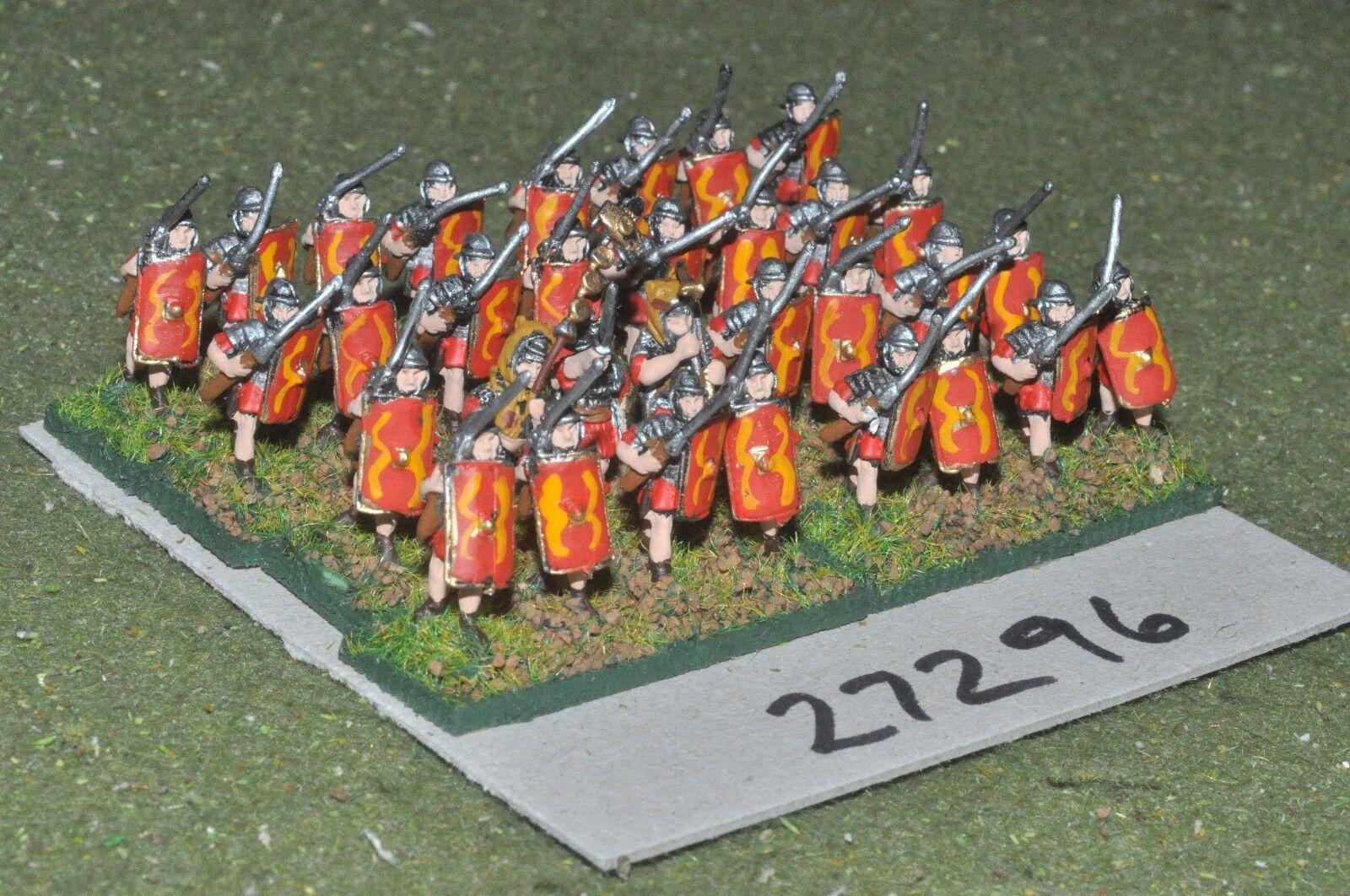 15mm roman era   roman - legionaries 32 figures - inf (27296)