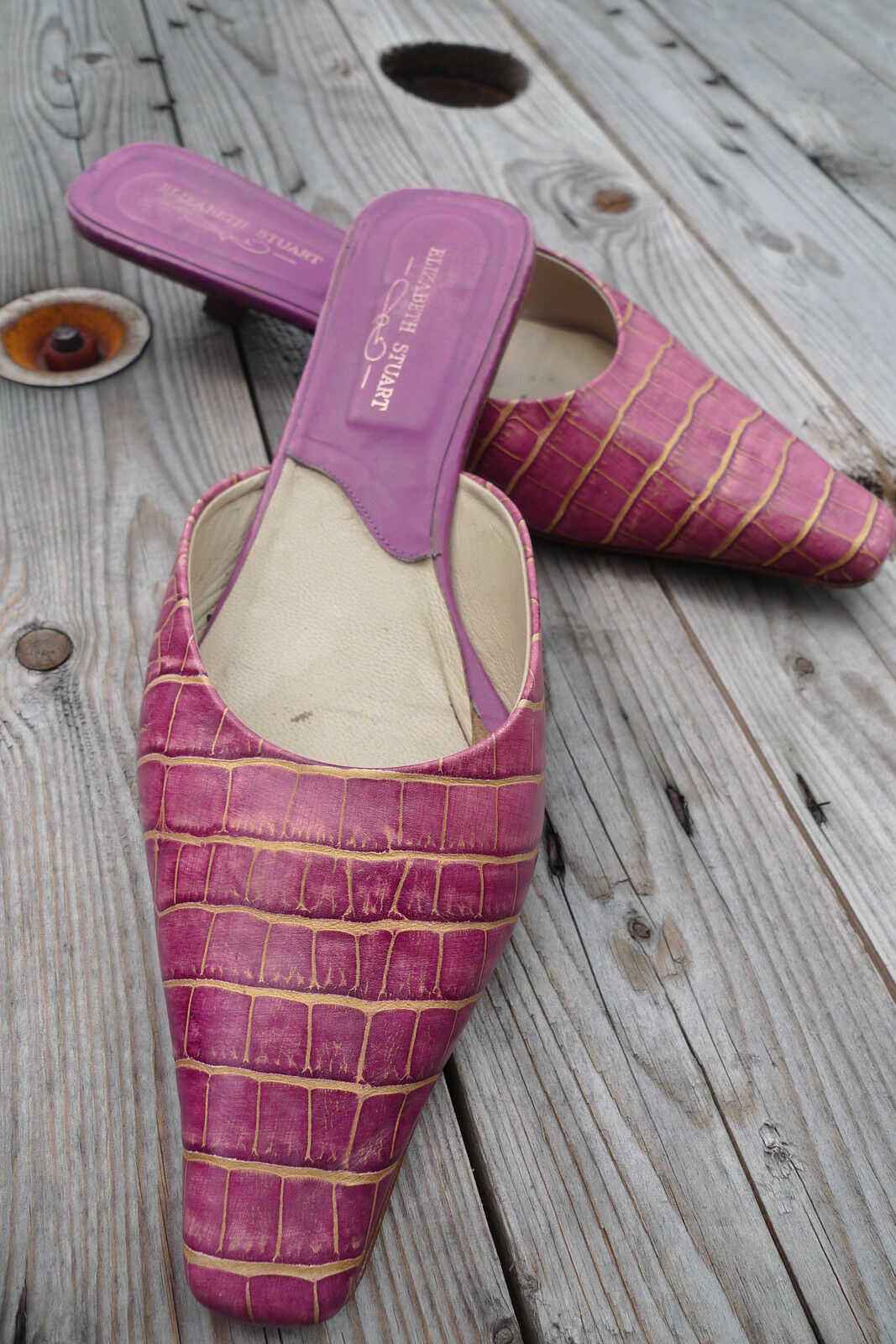 Chaussures MULES nu-pieds  ° Elizabeth Stuart °  comme NEUF P 41 free lance