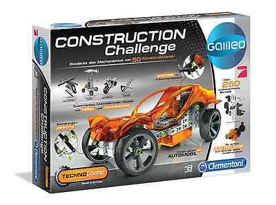 Attivo Galileo By Pro7 Technologic ** Construction Challenge Incl. Vera Motore Distintivo Per Le Sue Proprietà Tradizionali