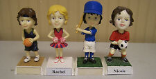 GIRLS / WOMEN  BASKETBALL NAMESAKE BOBBLE HEAD -  PERSONALIZED - SEE NAME LIST