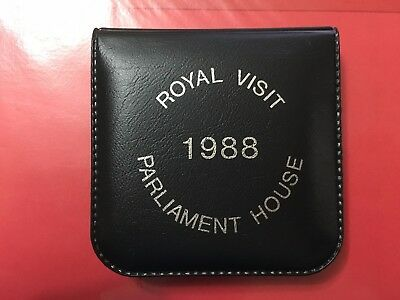 Australia Opening Of Parliament House Queen Royal Visit 1988 Medal Grade Products According To Quality 3231852m2