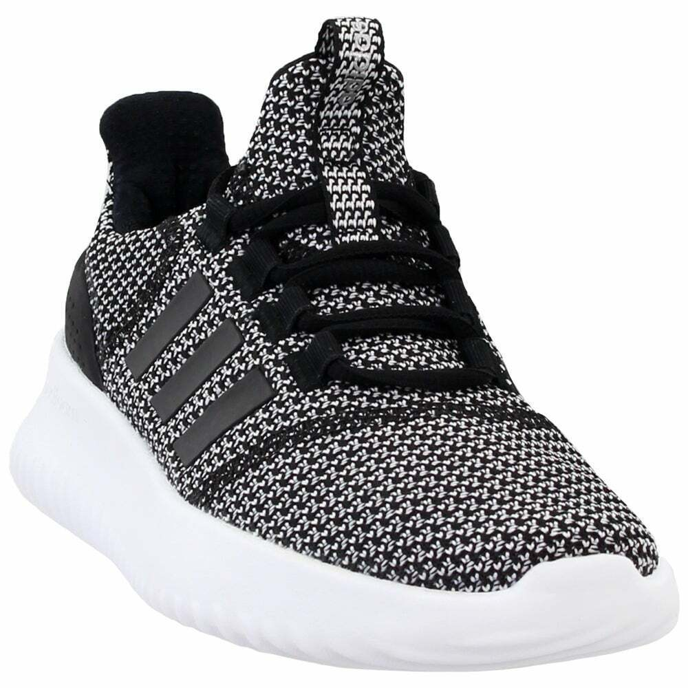 adidas Cloudfoam Ultimate Lace Up Kids Boys Sneakers Shoes Casual - Black -  for sale online