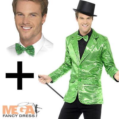 Mens Mr Tumbles Kit Waistcoat /& Bowtie Fancy Dress Costume