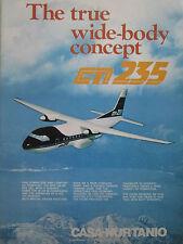 11/1981 PUB AVION CASA NURTANIO CN-235 PASSENGER SPANISH AIRCRAFT FLUGZEUG AD