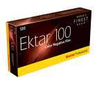 5 Rolls of Kodak Ektar 100 Professional 120 Roll Film Colour In-date 11/2019