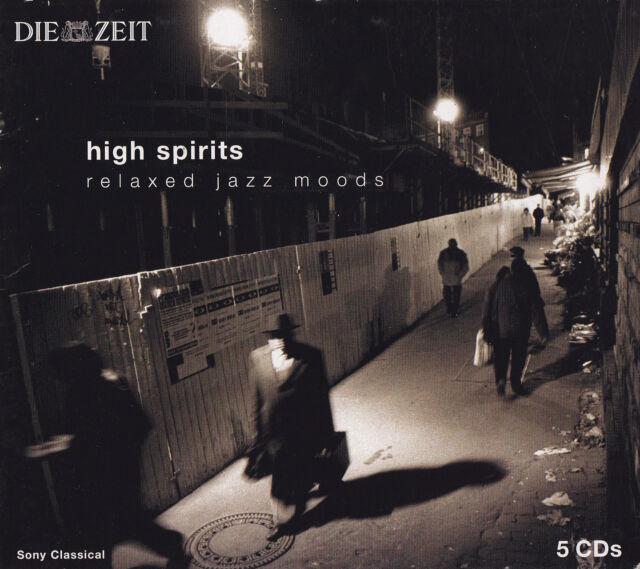 HIGH SPIRITS - 5 CD - RELAXED JAZZ MOODS ; Dave Brubeck / Davis / Roberts u.a.