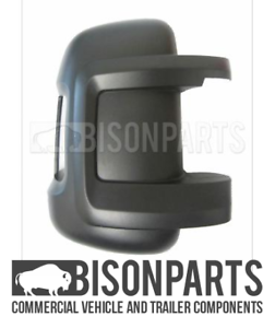 *FITS FIAT DUCATO 2006/> SHORT ARM MIRROR BACK COVER DRIVER SIDE RH BP116-335