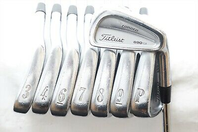 Titleist 690.Cb Forged Iron Set Stiff Flex Steel 3-Pw 0758970 Right Handed  | eBay