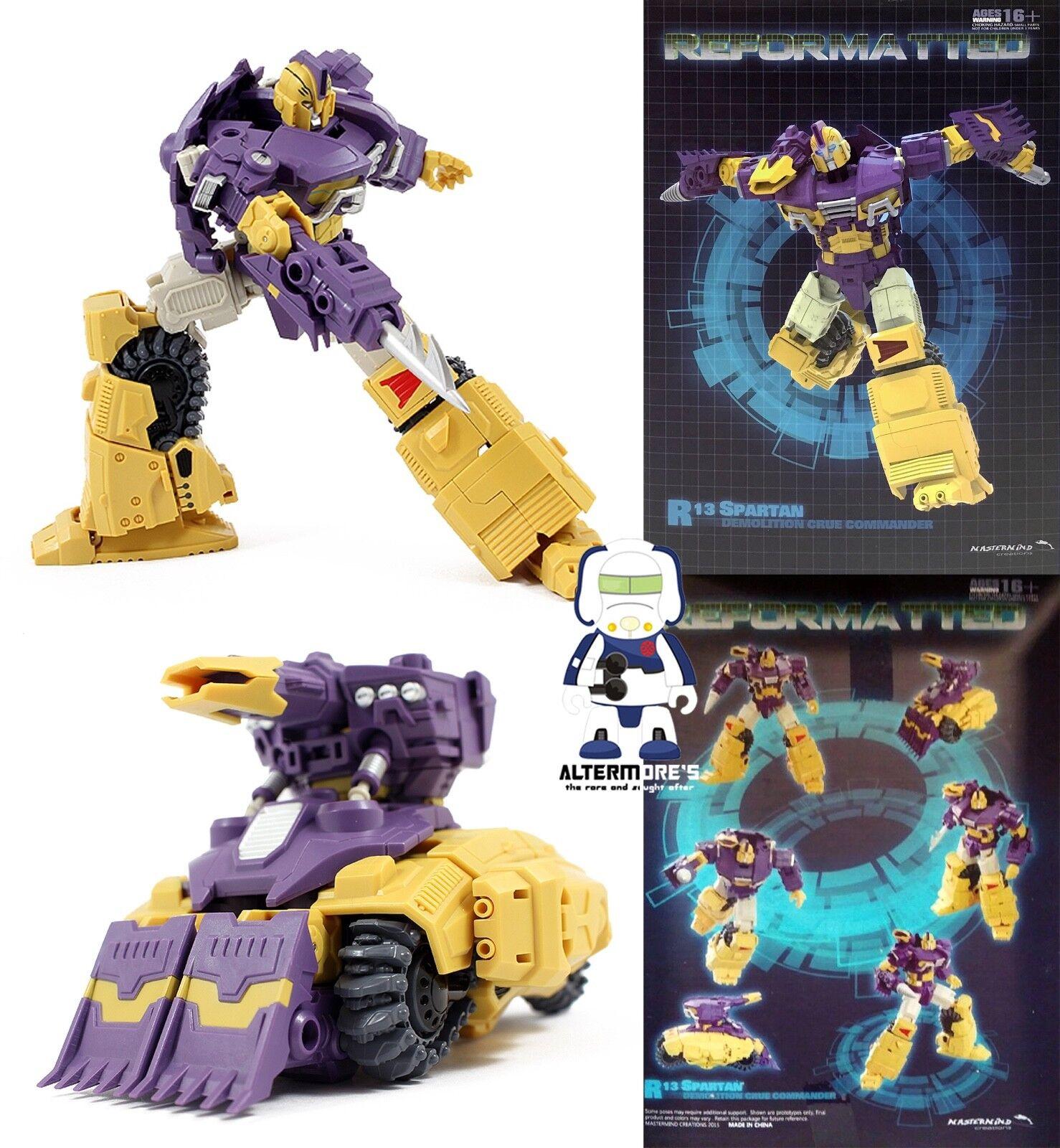 Transformers MMC Reformatted R-13 Spartan aka IDW Impactor MISB