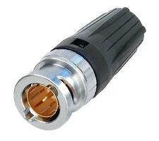 Neutrik NBTC75BLI4 Rear TWIST HD Tiny BNC cable connector