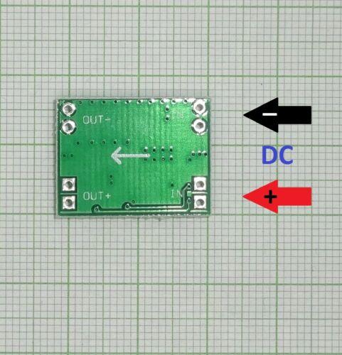 2 Stück Mini Step Down Spannungsregler Modul E701-2 MP1584 Power 3A