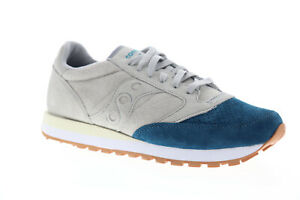 Details about Saucony Jazz Original Suede S70418 3 Mens Gray Casual Low Top Sneakers Shoes