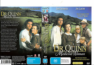 Dr-Quinn-Medicine-Woman-Complete-Season-2-1993-1998-TV-Series-USA-7-Disc-Set-DVD