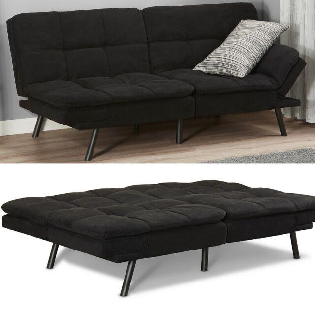 Mattress Full Size Metal Arm Sofa Bed