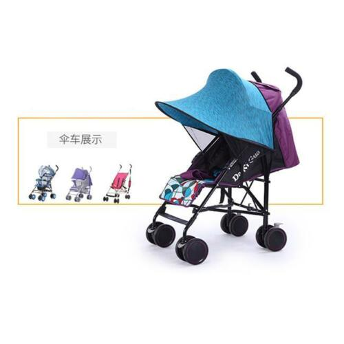 Baby Sun Ray Shade Canopy Parasol Sun Protection for Buggy Stroller Pushchair CB