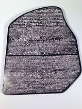 "Rosetta Stone ( Wall Plaque 11""x9"" ) Egypt, Hieroglyphics, History, Napoleon,"