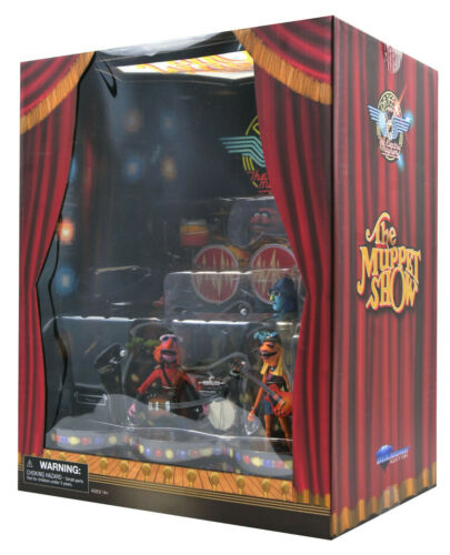 The Muppets DR teeth Electric Mayhem nastro Box Set SDCC 2020 Diamond Select Toys