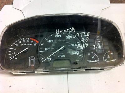 Honda Stream Speedometer 2.0 Auto Petrol Instrument Cluster 2003 78100-E300