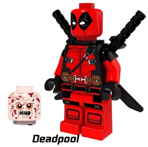 G3 Nuovo in Blister Deadpool Two Face Custom Minifigure Gashapon MOC LEGO
