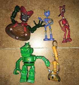"5 x Robots the movie 3"" Action Figures Madame Gasket ..."