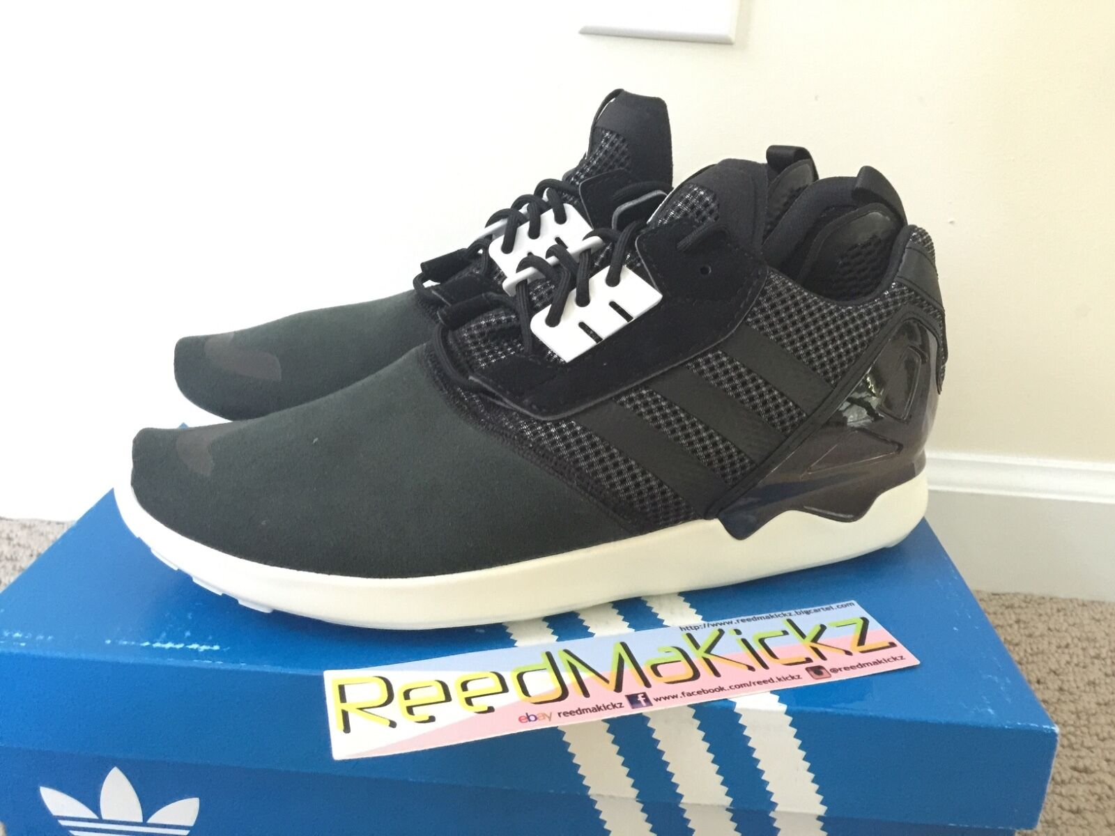 Adidas 8000 ZX 8000 Adidas Boost Black white Mens sizes B26366 a925e6