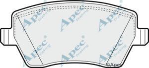 PAD1312 GENUINE APEC FRONT BRAKE PADS FOR RENAULT CLIO