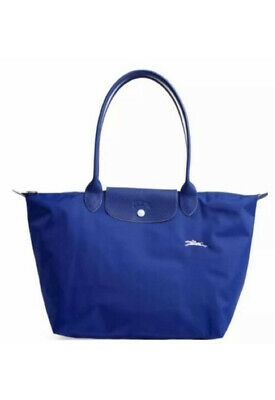 NWT Authentic Longchamp Le Pliage Large Club Tote In Color Cobalt  3597921719038 | eBay