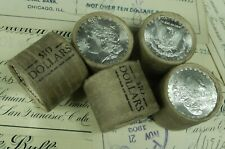 1x $10 BU Morgan Roll UNC Silver Dollar Shorty Morgan Dollars Random Ends Pre 21