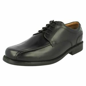 Details about MENS CLARKS LEATHER WIDE FORMAL OFFICE LACE UP OCCASIONS SHOES BEESTON STRIDE