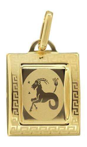 Sternzeichen Gold 585 Anhänger Tierkreiszeichen Gelbgold 14 Karat
