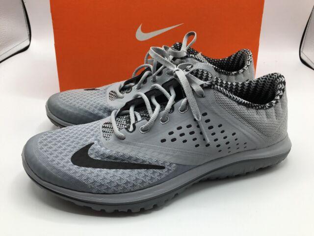 meet 1bb8a 0297f Nike FS Lite Run 2 Premium Mens Size 7.5 Wolf Grey Black Cool Grey New in  Box!